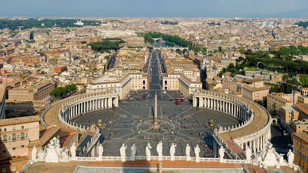 Vaticaanstad - TOP 10 MOST DENSELY POPULATED COUNTRIES IN THE WORLD