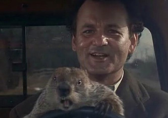 groundhog day - TOP 10 MOVIES ABOUT TIME TRAVEL