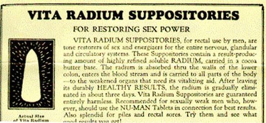 radium - TOP 10 MOST BIZARRE SOLUTIONS FOR ERECTILE DYSFUNCTION