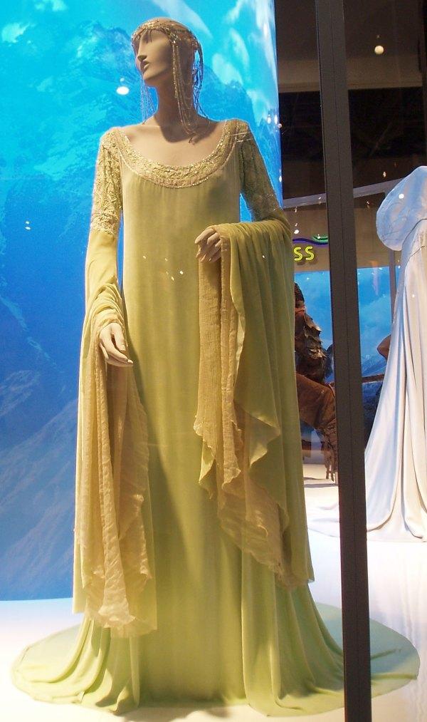 Arwen Green Coronation Dress