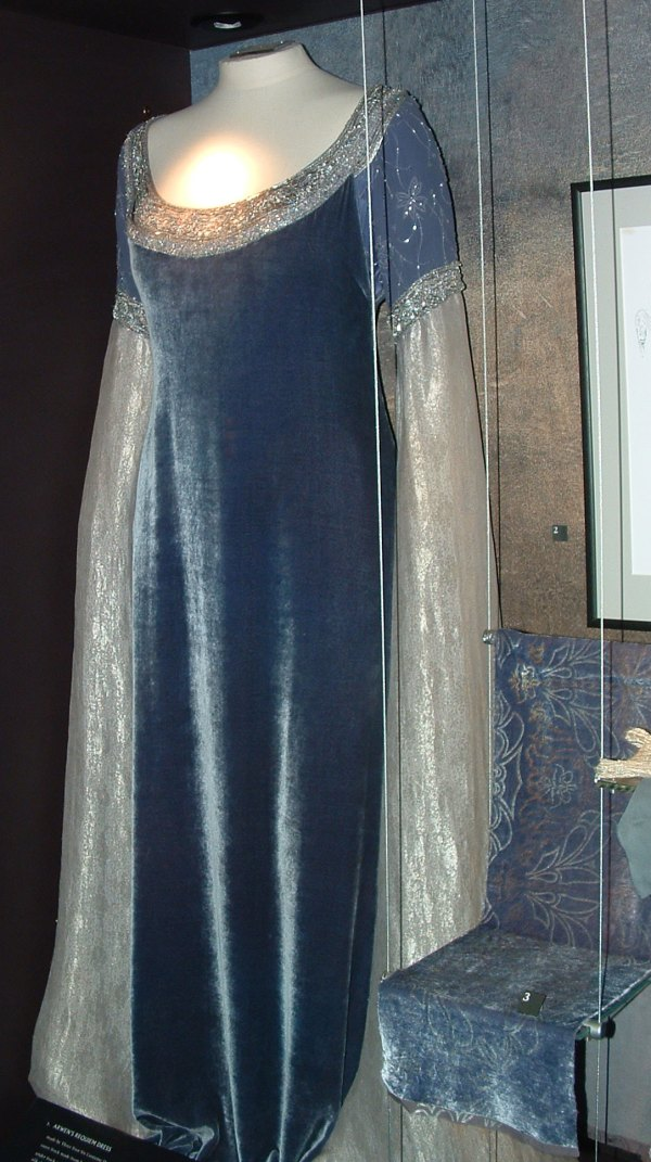 Lord of the Rings Arwen Blue Dress