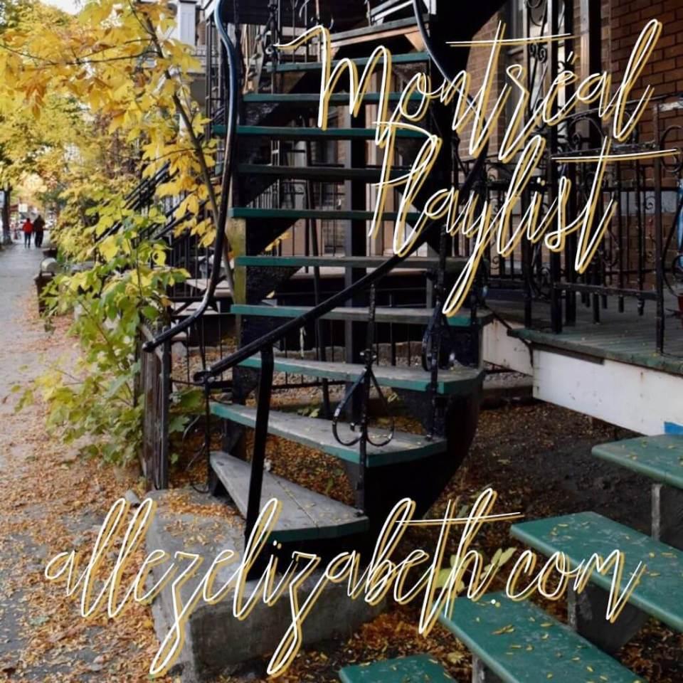 ALLEZ ELIZABETH - MONTRÉAL PLAYLIST - ALBUM COVER