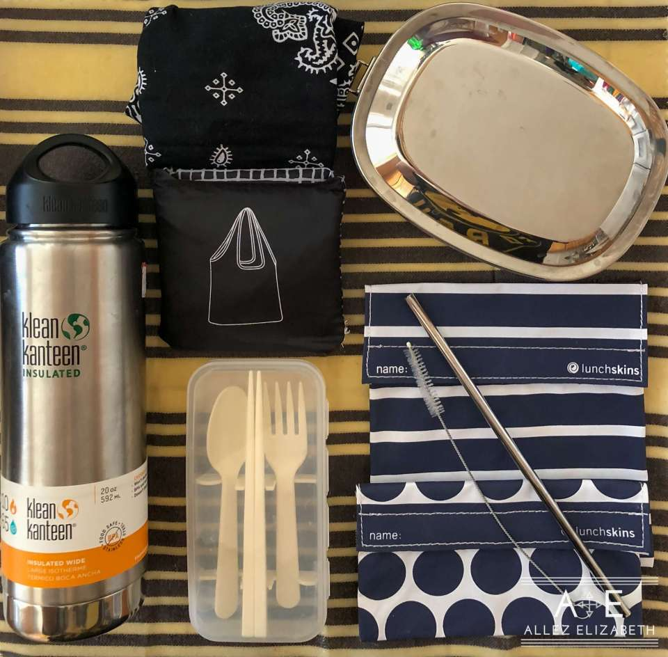 Allez Elizabeth - Elizabeth's Simple Zero Waste Travel Carry-On Kit