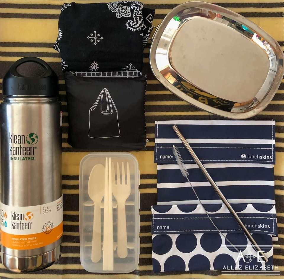 Allez Elizabeth - Elizabeth's Simple Zero Waste Travel Carry-On Kit