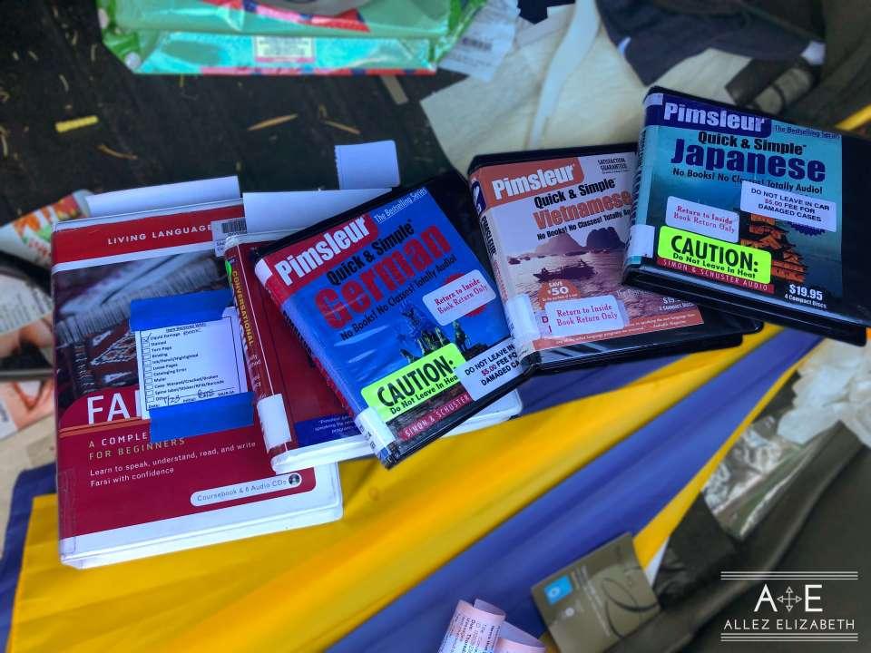 AE - DAY 24 - MORE LANGUAGE BOOKS - 31 DAY ASPIRING POLYGLOT CHALLENGE