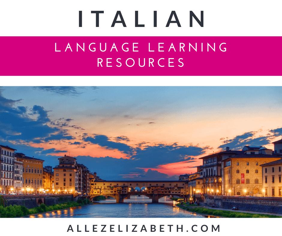 ALLEZ ELIZABETH - LANGUAGE LEARNING FEATURED IMAGE - ITALIAN