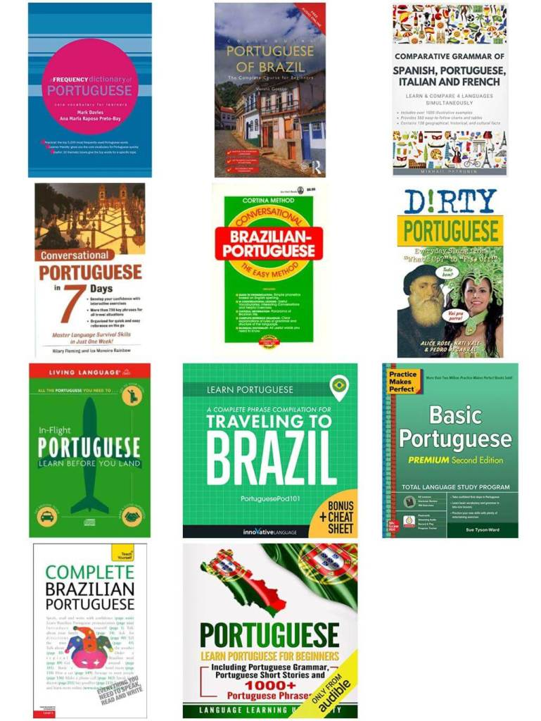 Allez Elizabeth BRAZILIAN PORTUGUESE LANGUAGE LEARNING RESOURCES BOOK LIST