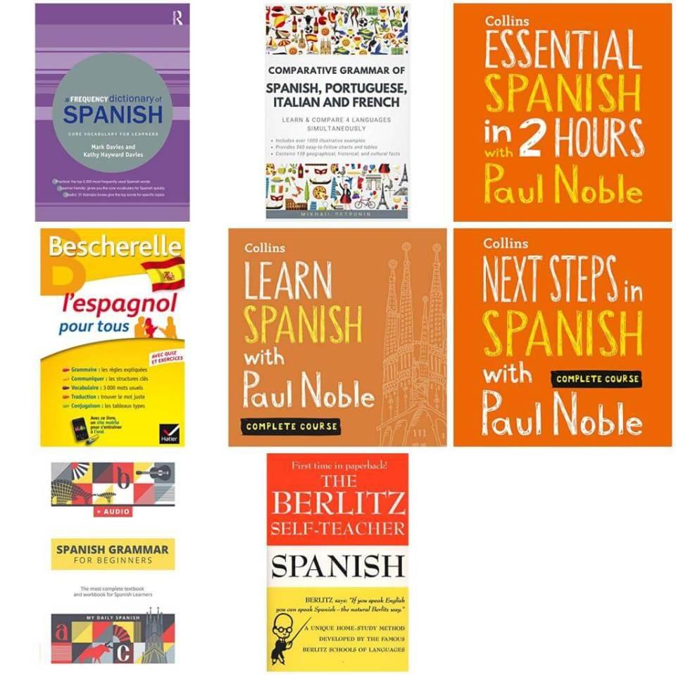 Allez Elizabeth CASTILIAN SPANISH LANGUAGE LEARNING RESOURCES BOOK LIST