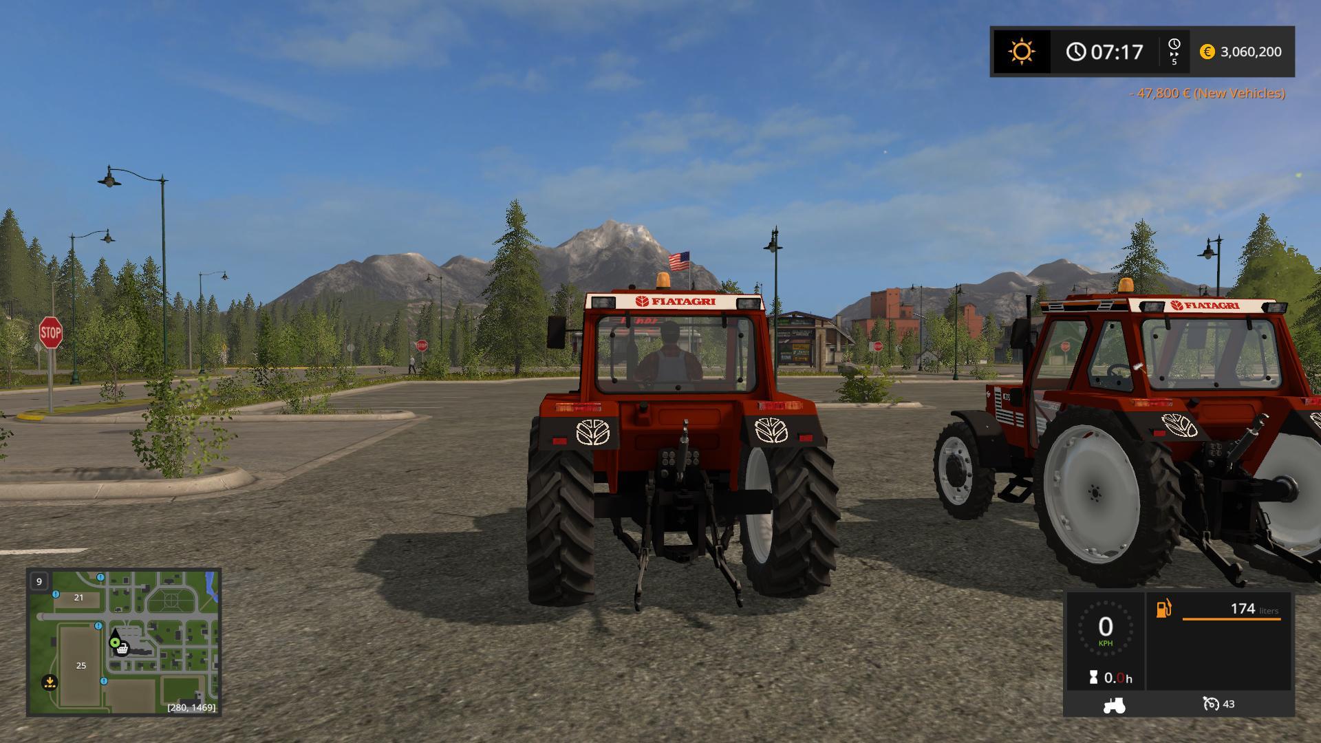 FIATAGRI 80-90 + 90-90 V1.0 FS17 - Mod download
