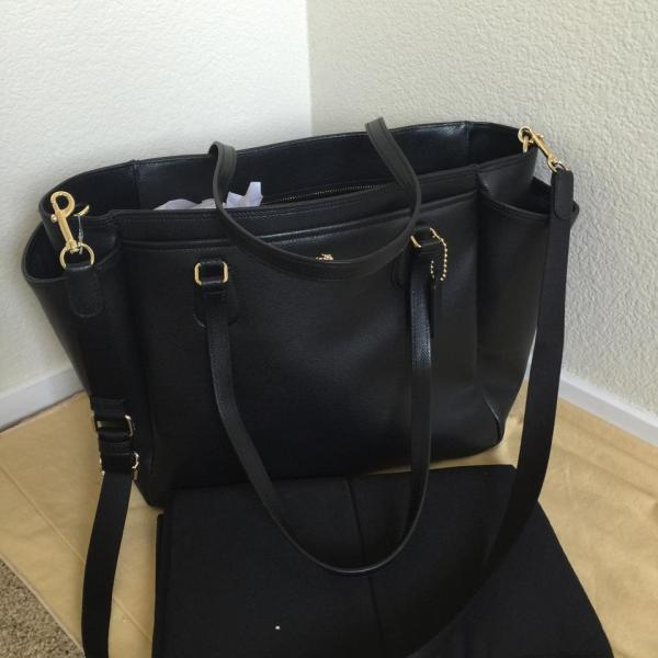 Black Diaper Bag Fashion Bags