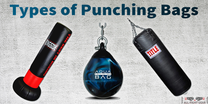 types of punching bags