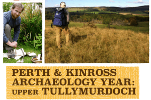Perth and Kinross Archaeology Year 2017: Navigation courses. Upper Tullymurdoch.