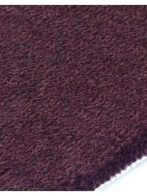 edelFORM Noblesse Teppichboden gut und günstig dunkelviolette Kräuselvelours