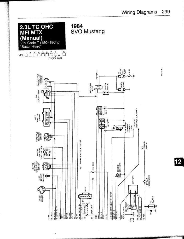 86 Svo Mustang Wiring Diagram Get Free Image About Wiring