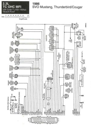 wiring diagrams for svo  Ford Mustang Forum