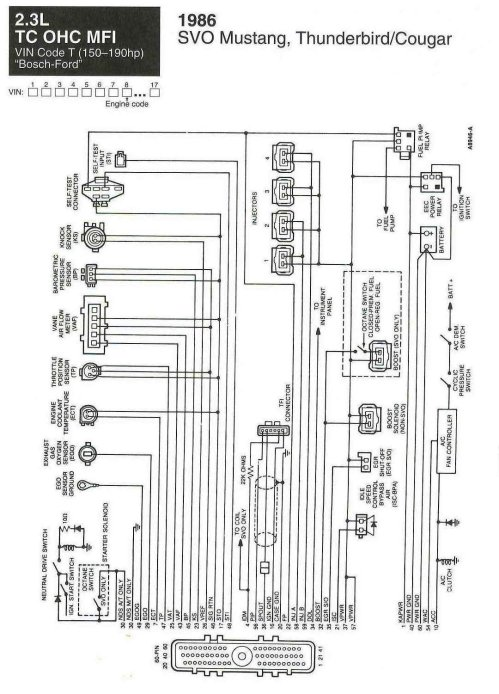 small resolution of wiring diagrams for svo ford mustang forum 1986 mustang wiring diagram on wiring diagram for 1986 mustang