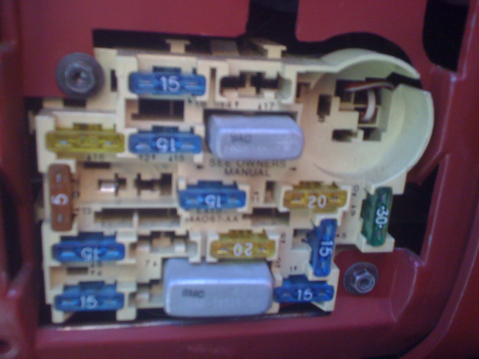 hight resolution of pic needed of 1989 mustang 2 3 fuse box ford mustang forum 2002 mustang fuse box