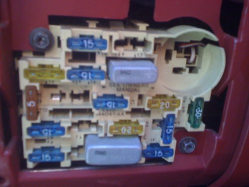 small resolution of pic needed of 1989 mustang 2 3 fuse box ford mustang forum 2002 mustang fuse box
