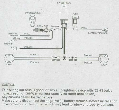 How To Install Fog Light Wiring Harness How To Wire Fog Lights
