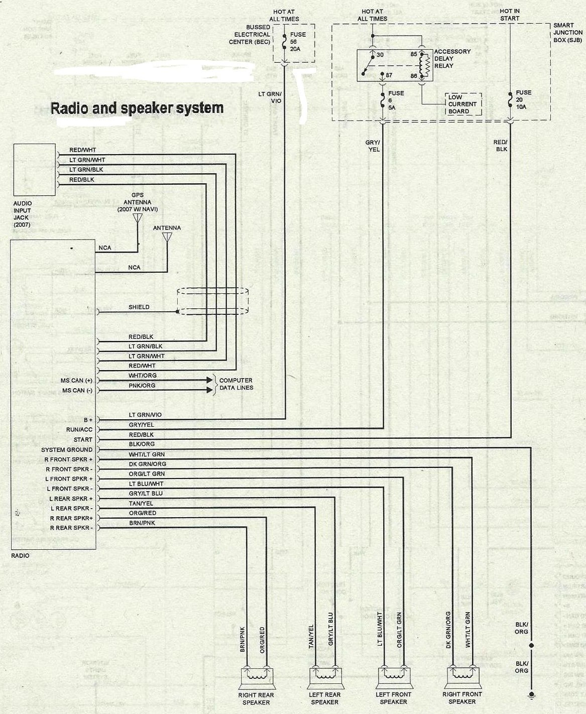 2005 ford 500 radio wiring diagram 2005 image for a ford 500 wiring diagram for auto wiring diagram schematic on 2005 ford 500 radio