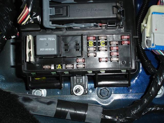 2003 Taurus Fuse Box Diy In Dash Mount Gauge Install Ford Mustang Forum