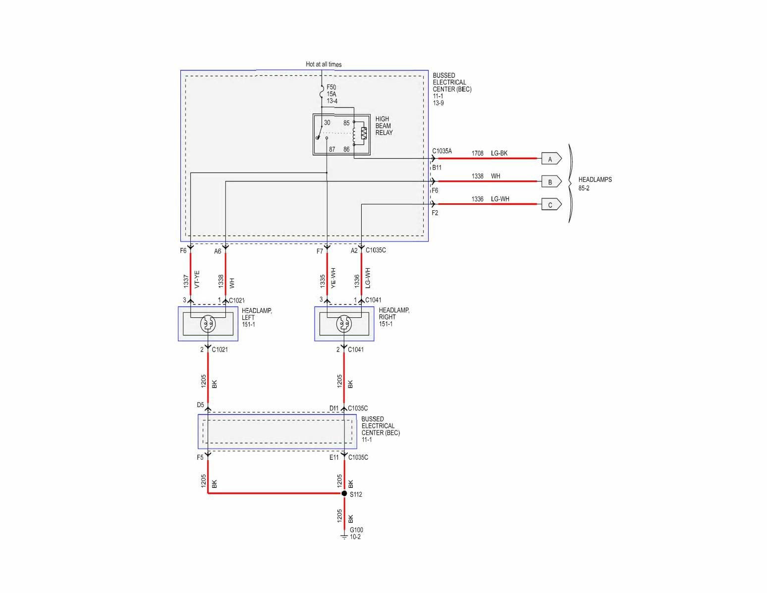 hight resolution of click image for larger version name headlamp 01 jpg views 9823 size fuse panel diagram for 2005 mustang gt