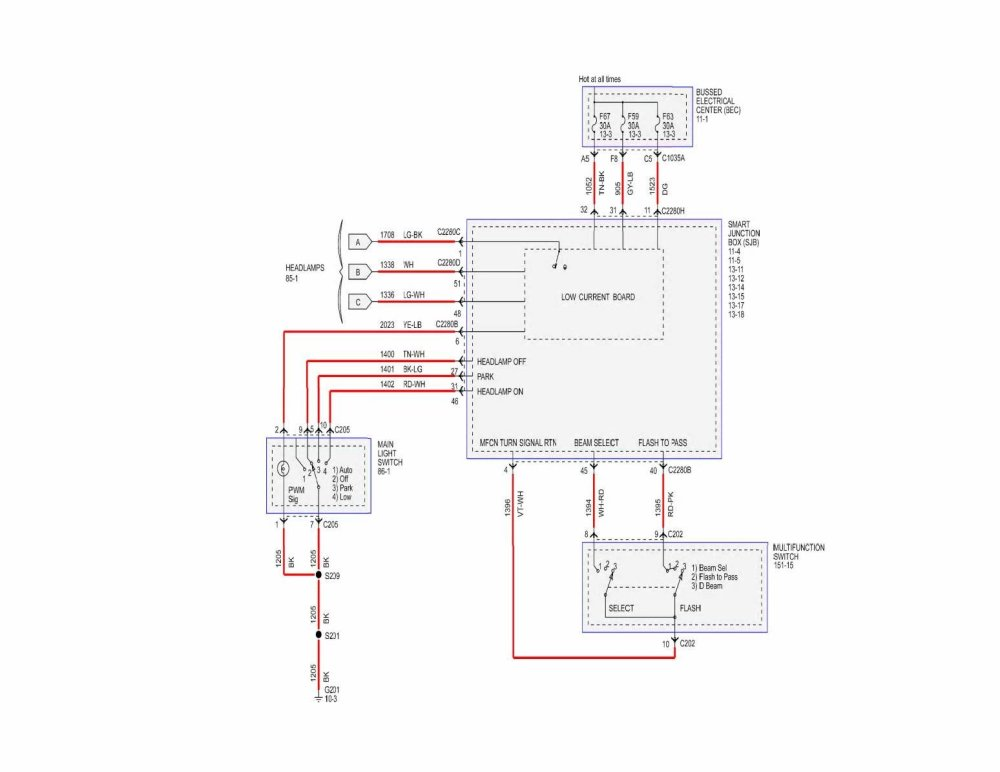 medium resolution of 2005 ford mustang fuse box diagram page 9