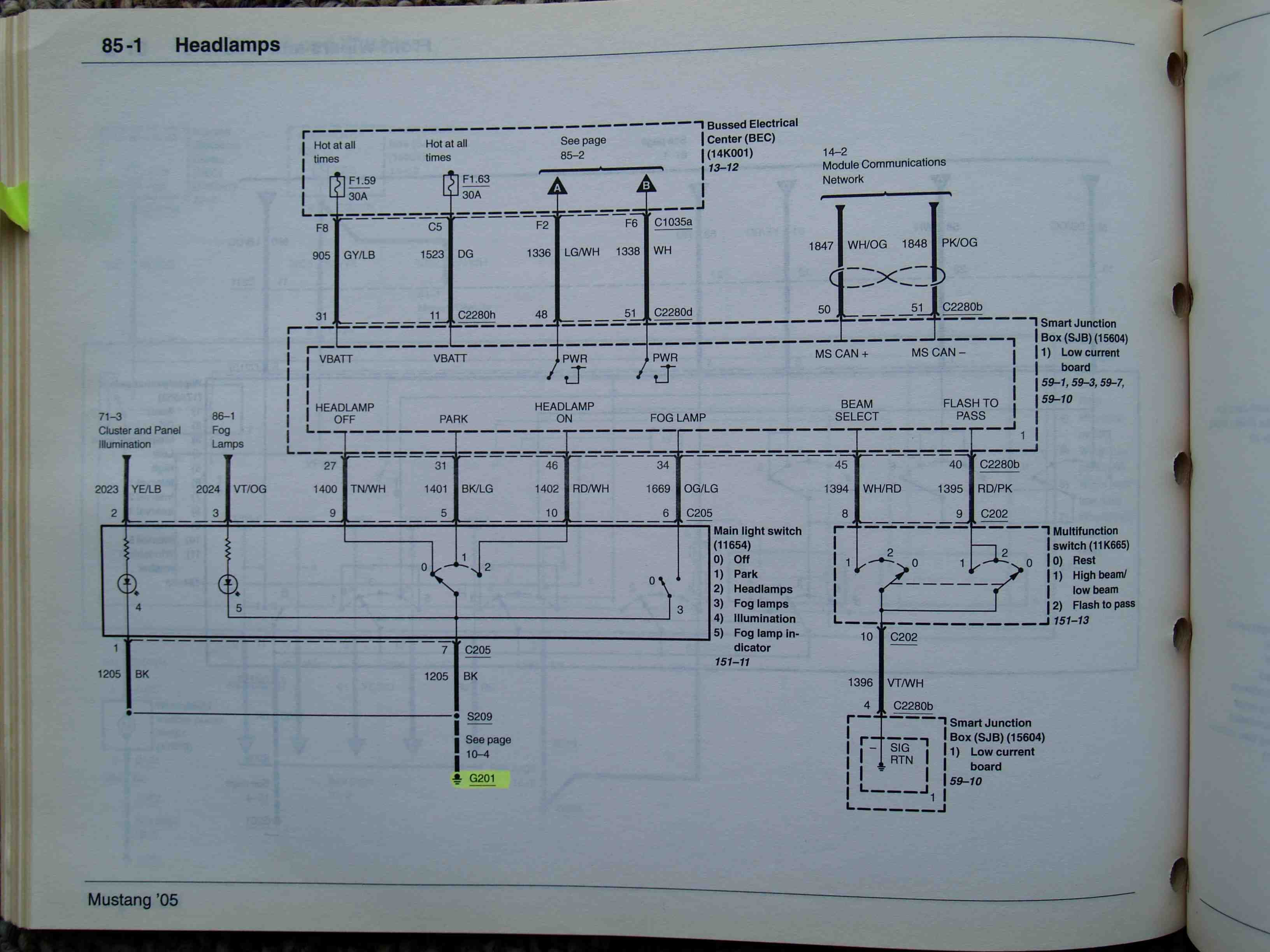 2000 mustang wiring diagram 2003 pontiac vibe radio 2008 gt headlight ford forum