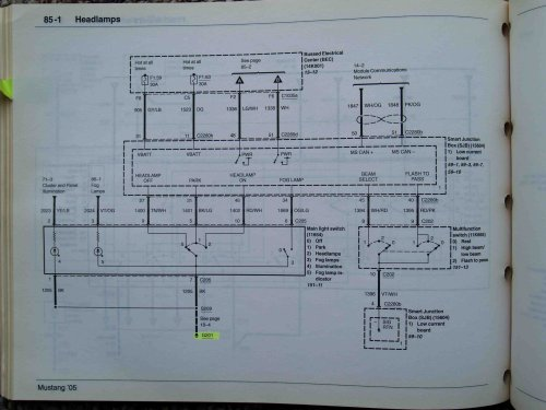 small resolution of 2008 gt headlight wiring diagram ford mustang forum 1970 mustang headlight wiring diagram 2006 mustang