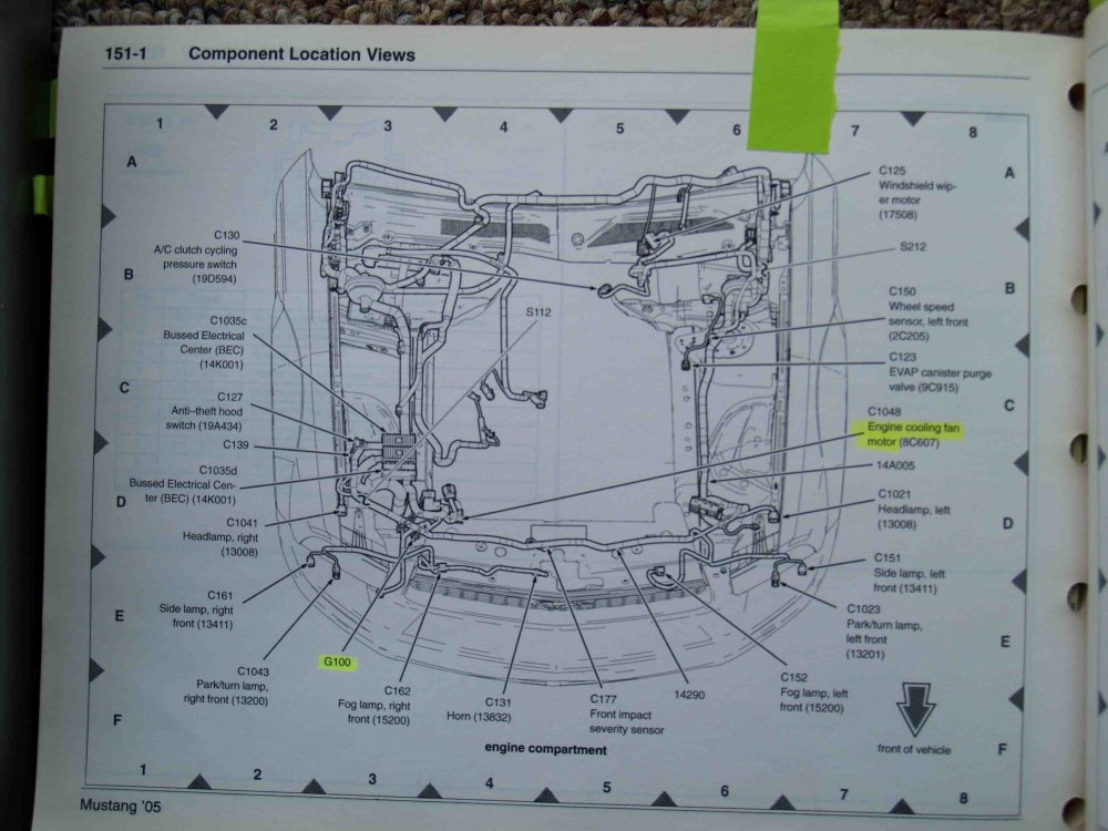 medium resolution of 2004 mustang headlight wiring diagram wiring diagram world 2004 mustang headlight wiring diagram