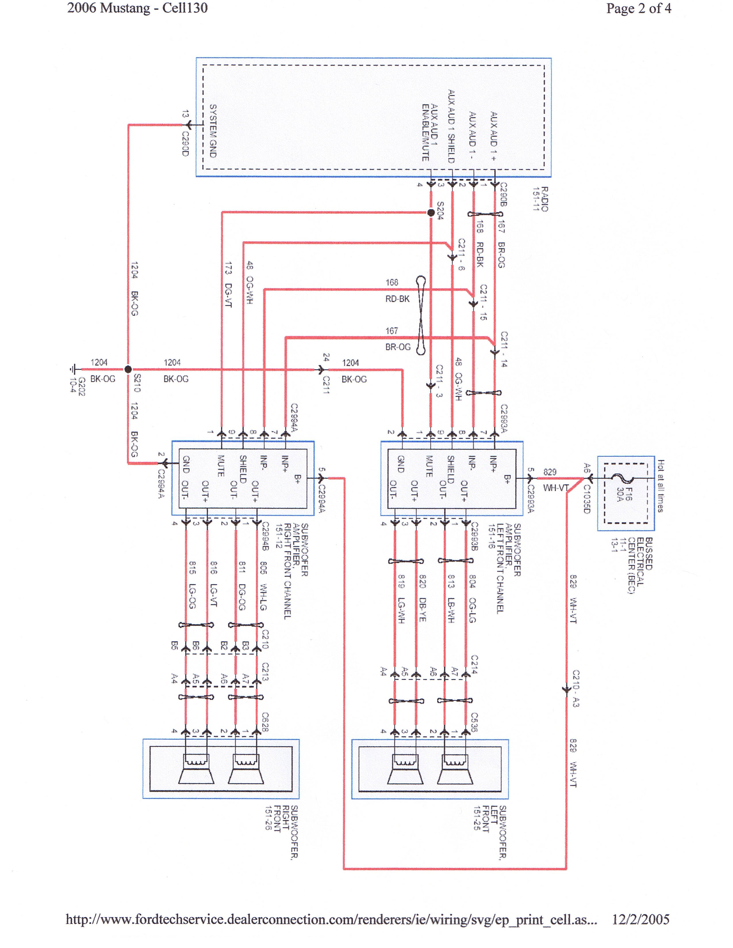 car dome light wiring diagram respiratory system blank to label shaker 500/1000 harness question (subwoofer) - ford mustang forum