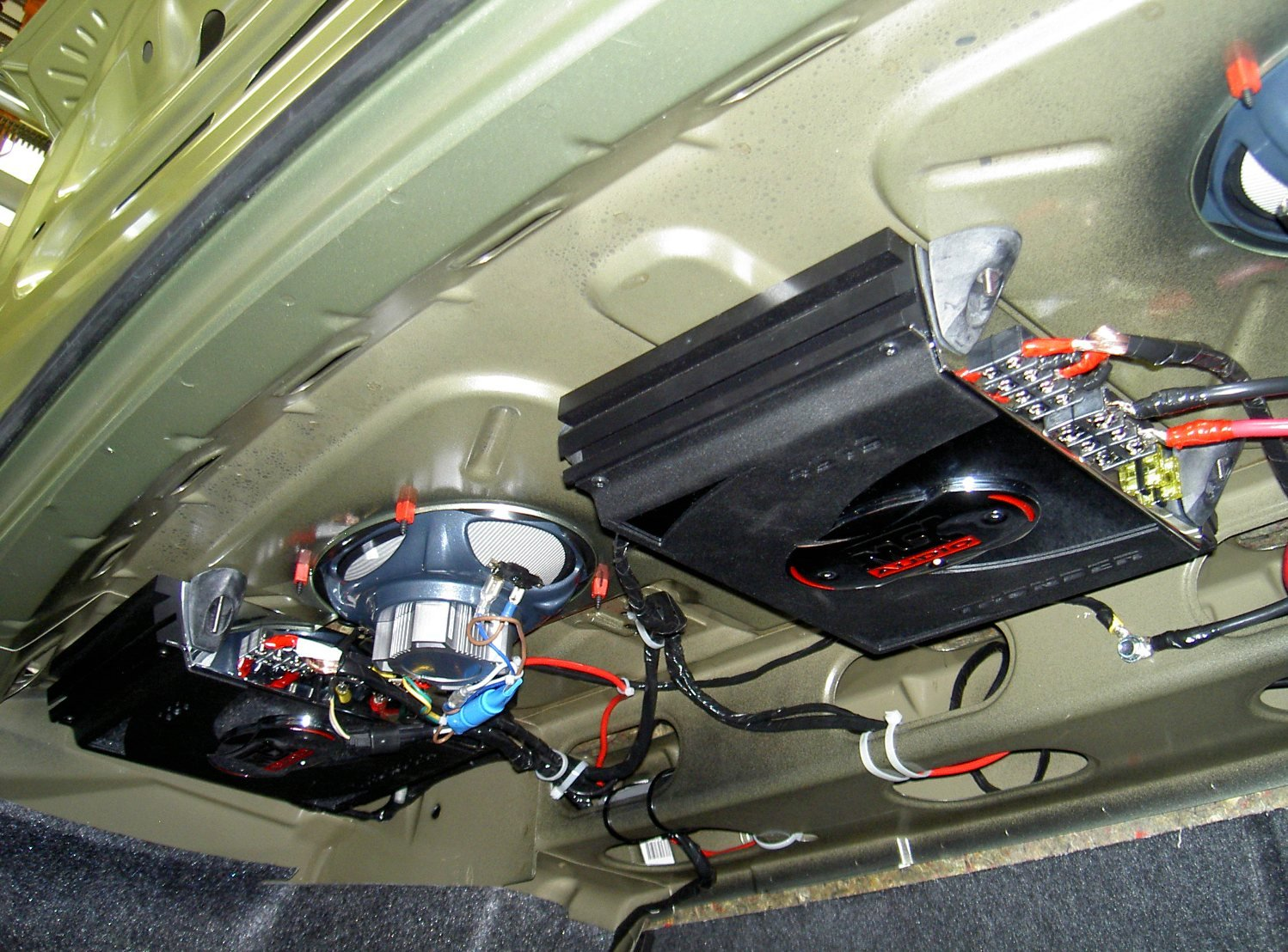 Infinity Amplifier Wiring Diagram 2005 Mustang Gt Has Anyone Replaced The Woofers In The