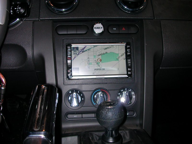 2006 Mustang Fuse Box Stereo Upgrade From Base Ford Unit Ford Mustang Forum