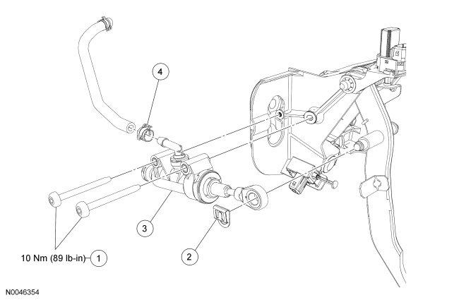 Ford ranger clutch pedal not returning