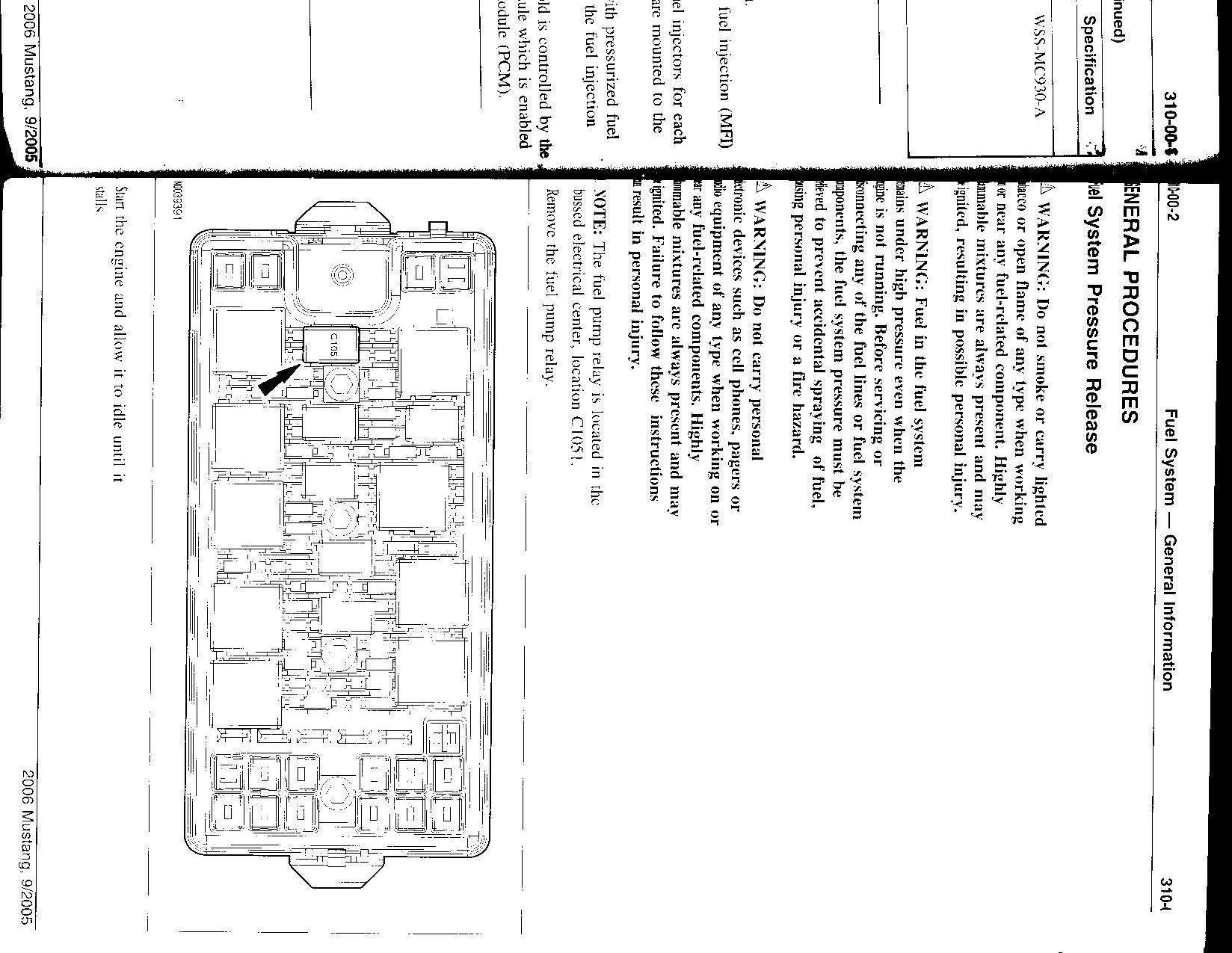 hight resolution of 2006 mustang fuse box wiring diagram2006 mustang fuse box