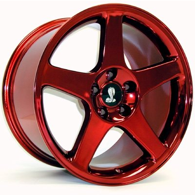 Red and Black Rims