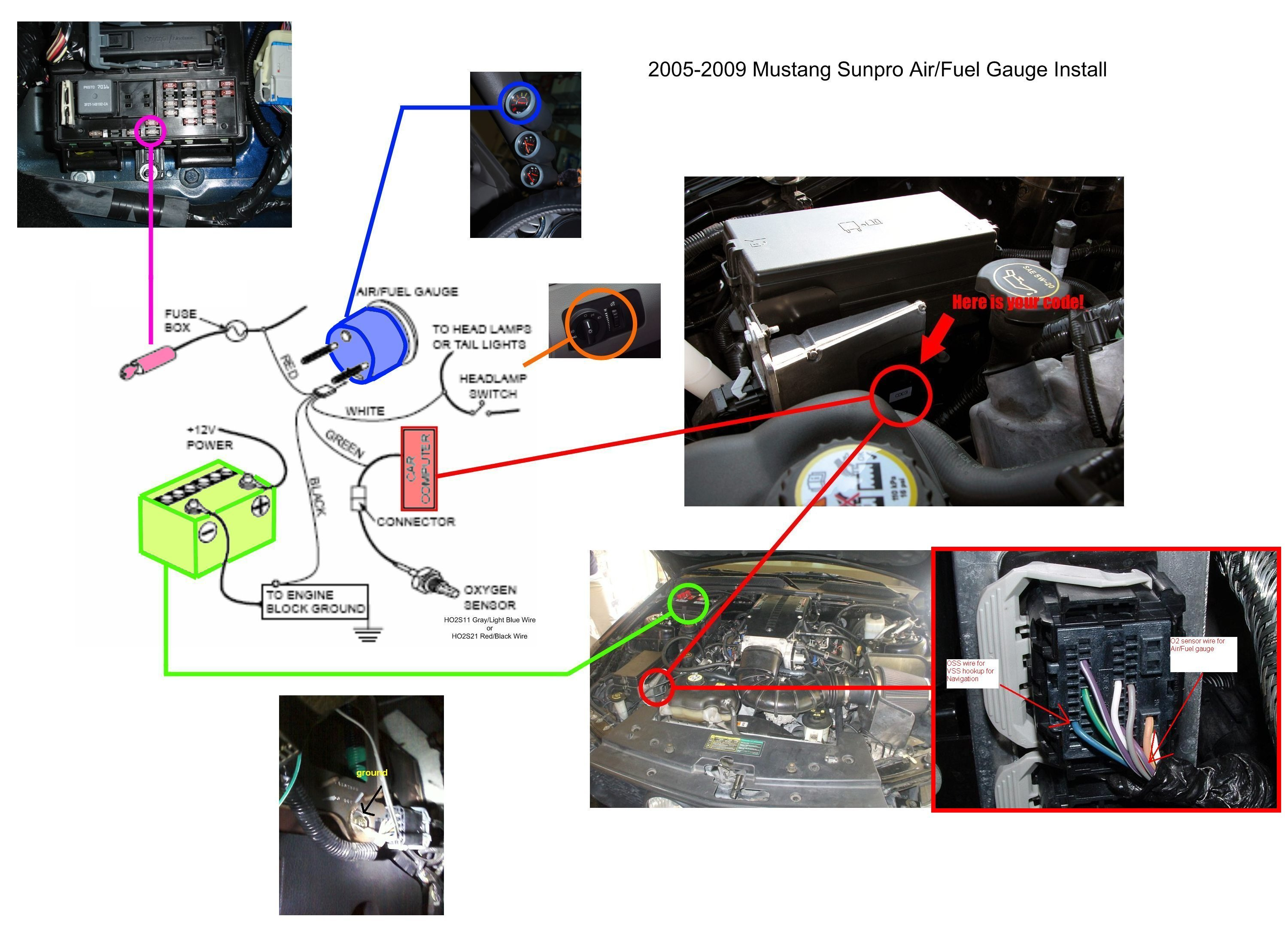 autometer air fuel ratio gauge wiring diagram balanced xlr to unbalanced 1 4 auto meter best library schematic name also
