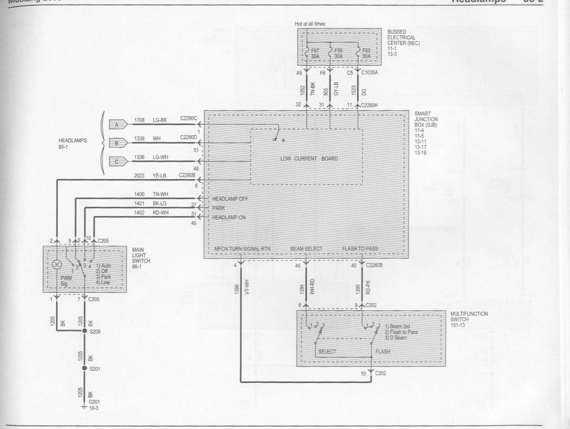 hight resolution of 2008 v6 mustang headlight wiring question ford mustang forum 2008 ford mustang stereo wiring diagram 2008 ford mustang gt wiring diagram