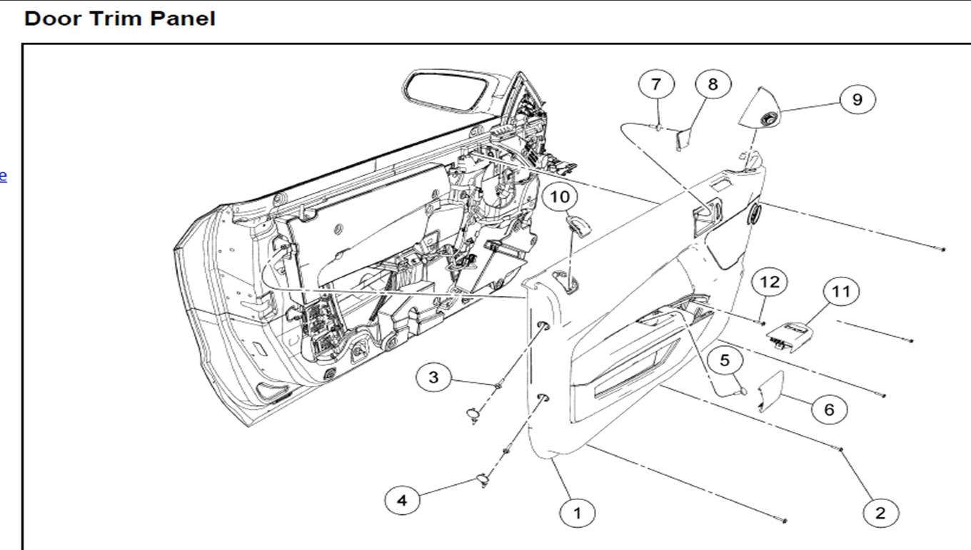 File Mustang Door Wiring Diagram