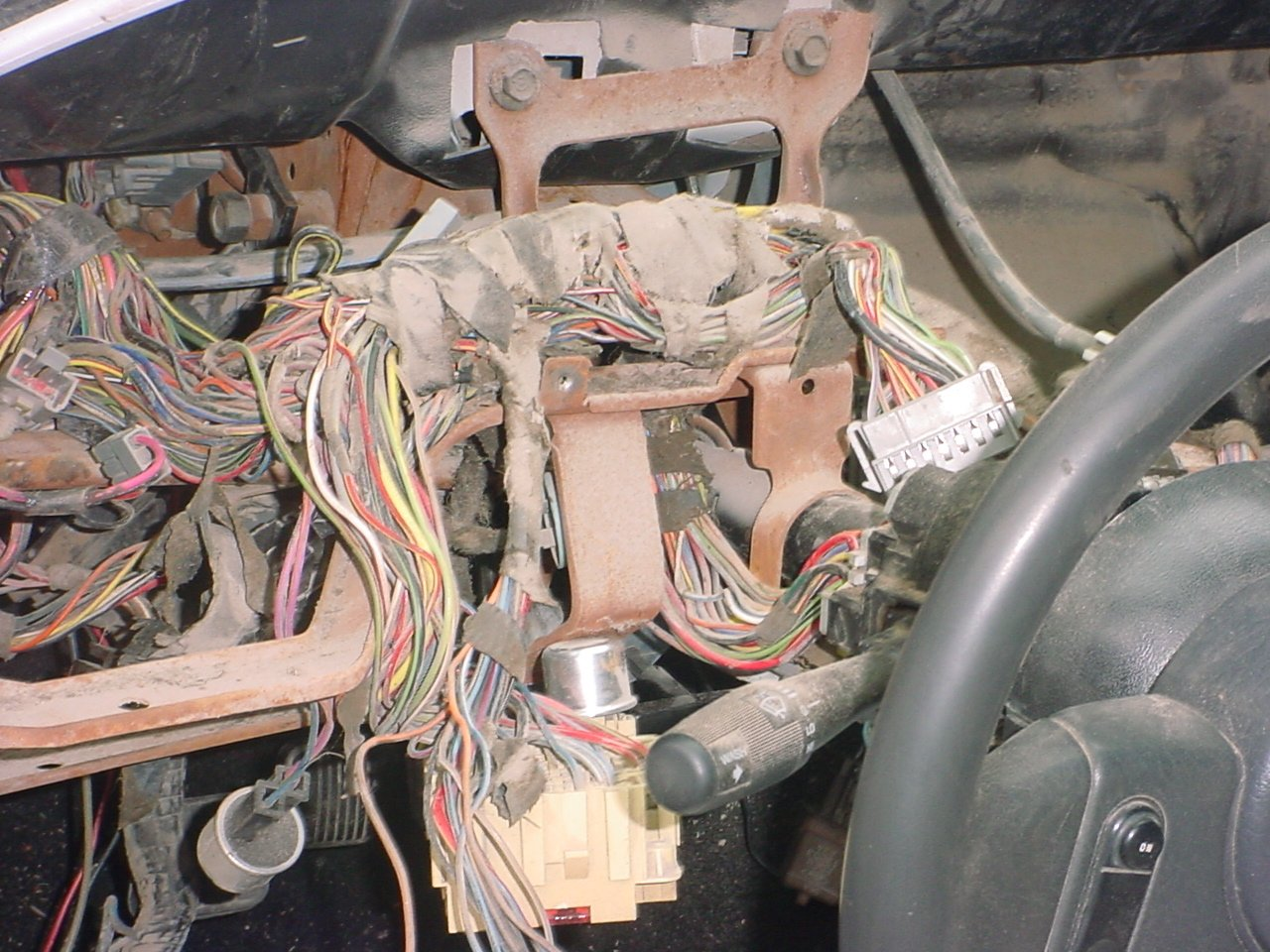 1969 mustang under dash wiring diagram semi trailer 7 way 1965 get free image