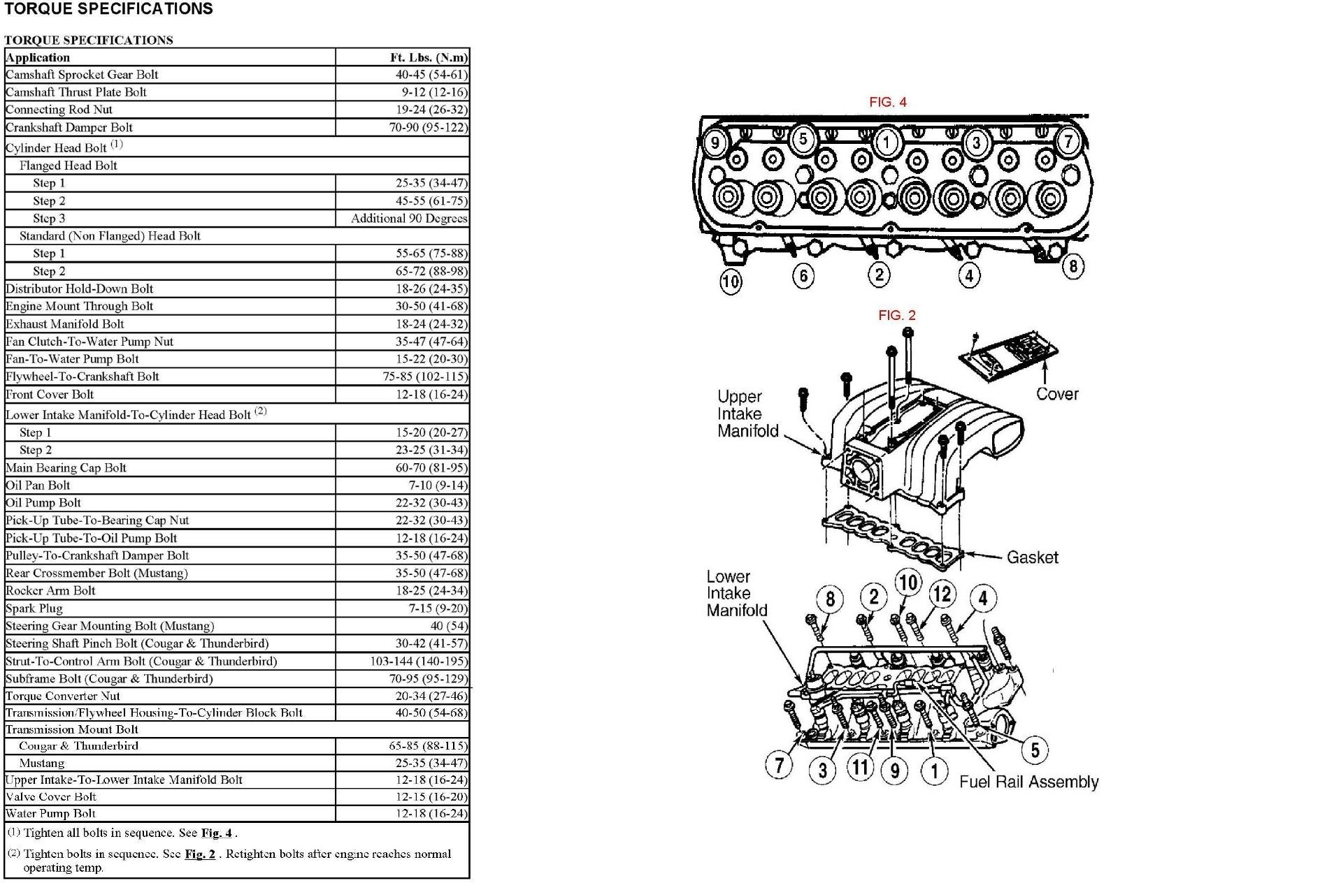 Ford 289 Engine Diagram Get Free Image About