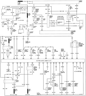 Charging Wire Diagram for 92 LX 50?  Ford Mustang Forum