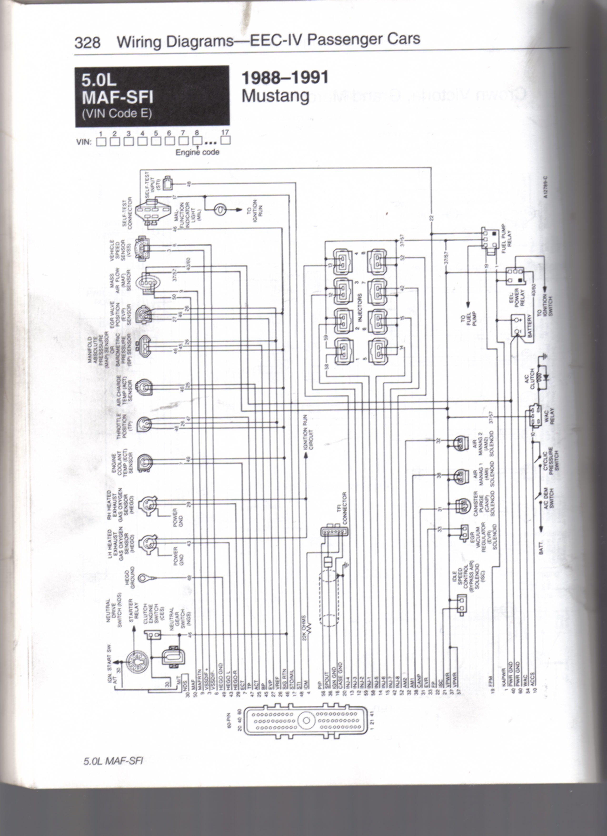 Mustang Lx Converting To 5 0 And Need Wiring