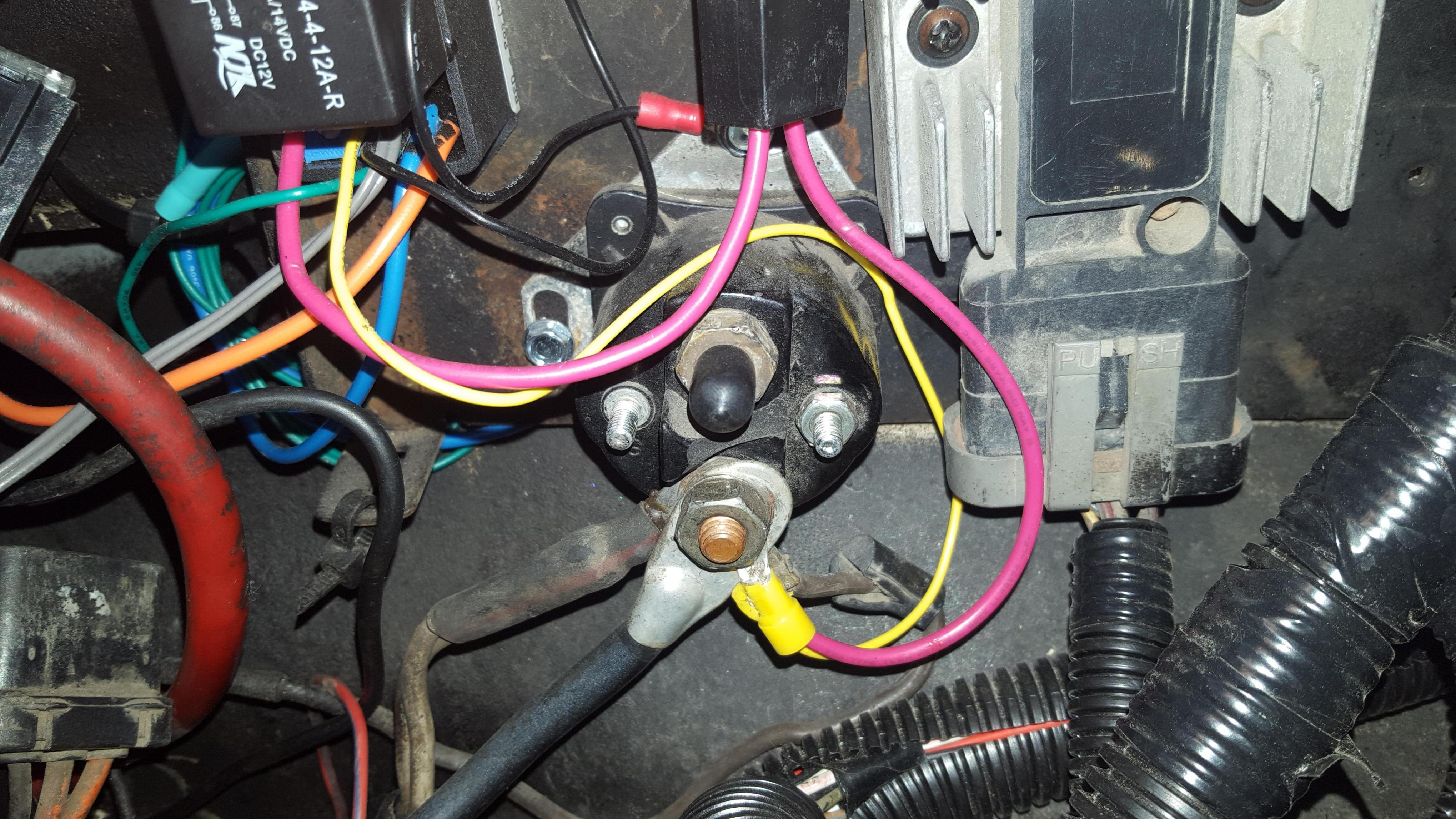94 ford ranger wiring diagram low voltage outdoor lighting starter solenoid question - mustang forum