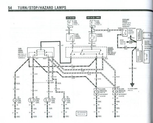 small resolution of 1989 mustang turn signal wiring diagram detailed schematics diagram rh jvpacks com