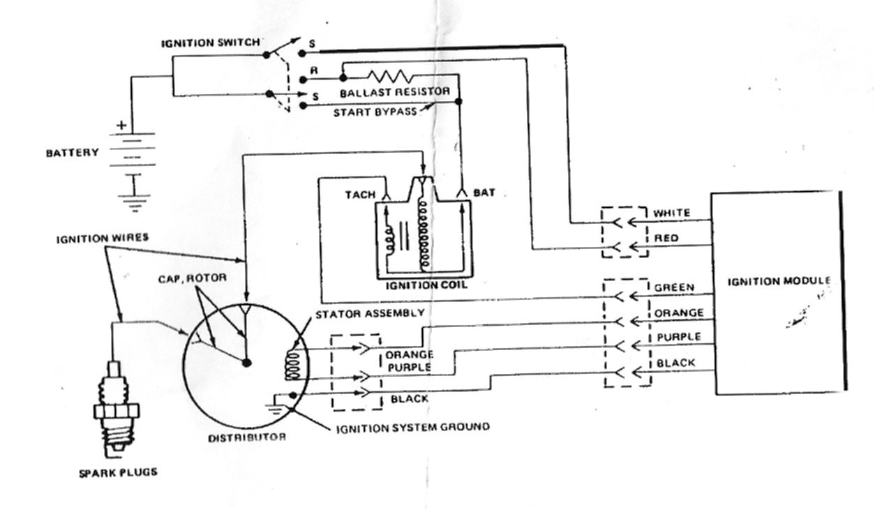 Ford 2000 Tractor Wiring Diagram 6 Volt System Please Help Duraspark Ignition No Spark Ford Mustang Forum