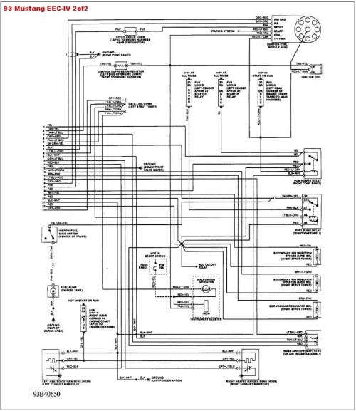 small resolution of 93 mustang wiring harness diagram wiring diagram forward 1993 mustang wiring harness diagram my wiring diagram
