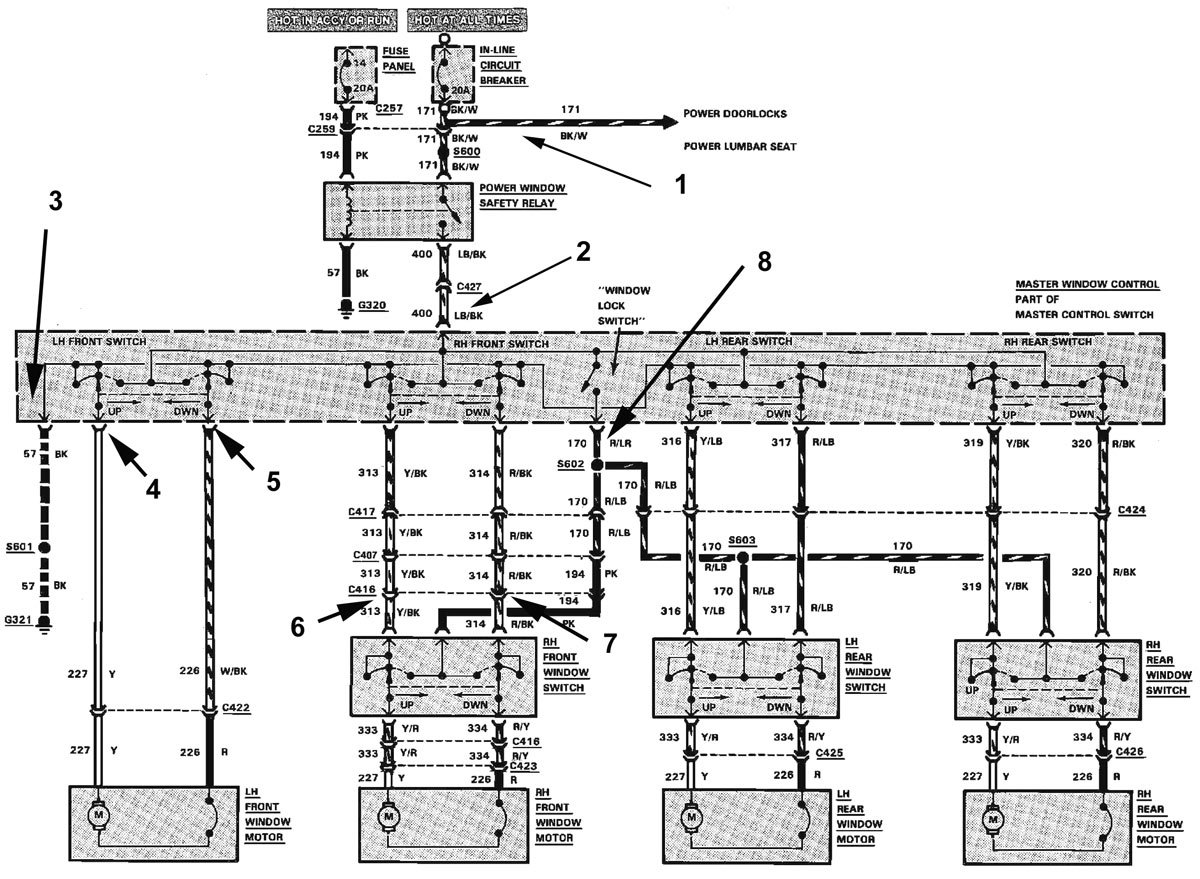 89 Mustang Wiring Diagram