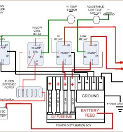 electric fan wiring diagram click image for larger version name 4 relay setup jpg views 11219 size [ 1039 x 806 Pixel ]
