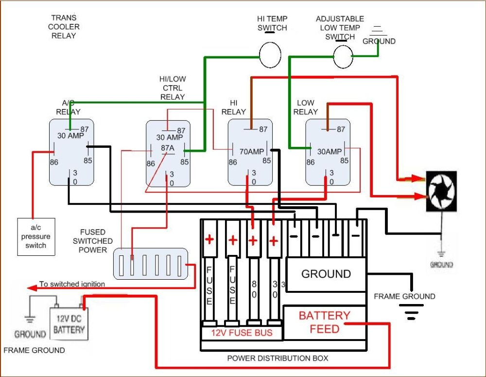 medium resolution of  electric fan wiring diagram click image for larger version name 4 relay setup jpg views 11219 size